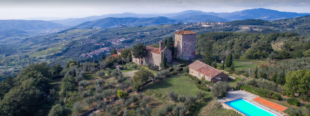 The Castello Di Ristonchi. This is Stefanie and Rasmus's dream! They are fighting for it, even after two catastrophic events. A terrible explosion and the global pandemic.